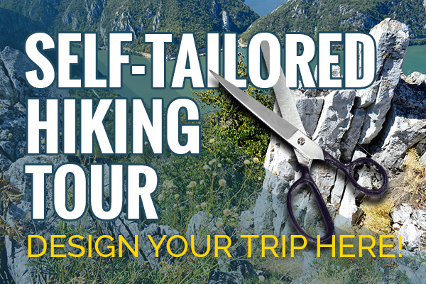 Self tailored hiking tour